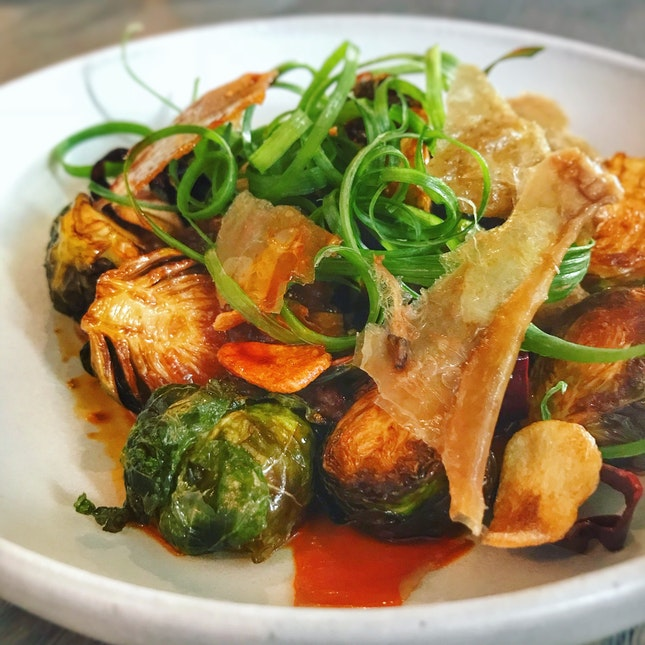 Szechuan Brussels Sprouts