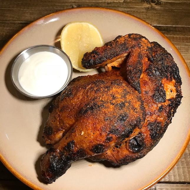 Tandoori Chicken ($18++)