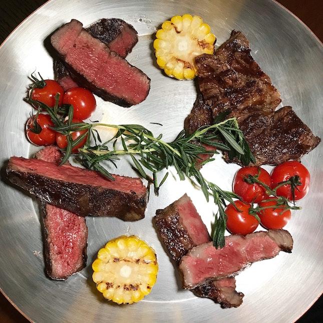 The Origin Beef Tasting Platter For 2 ($198++)