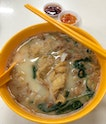 "Mixed Fish Soup With ""Yee Mee"" ($6)"