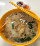 """Mixed Fish Soup With """"Yee Mee"""" ($6)"""