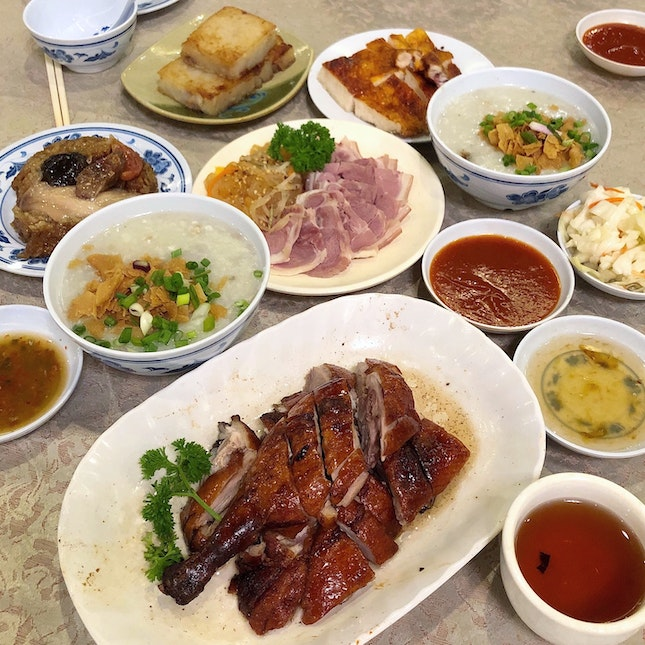 Dim Sum In A Characterful Restaurant