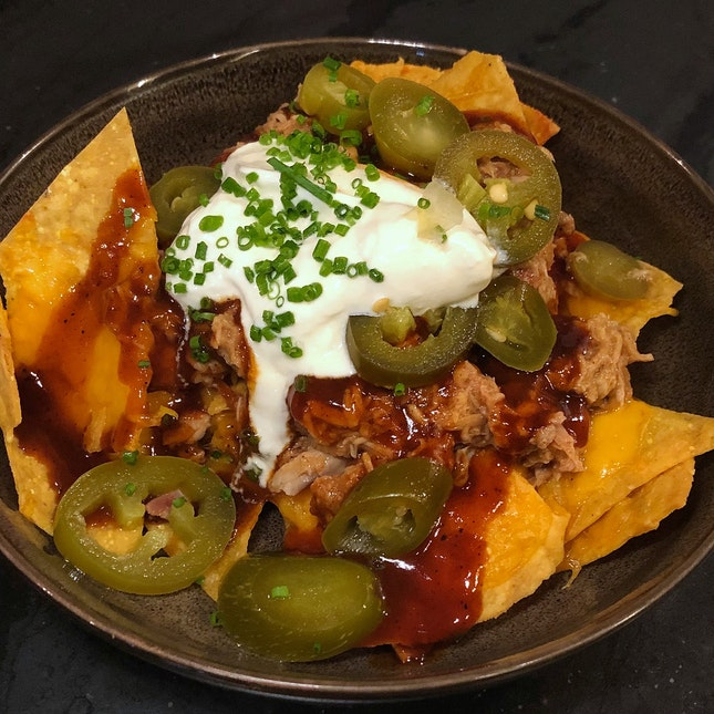 Pulled Pork Nachos ($12++)