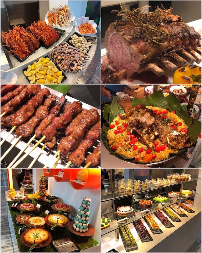 An International Sunday Lunch Buffet I Indulged Very Happily In