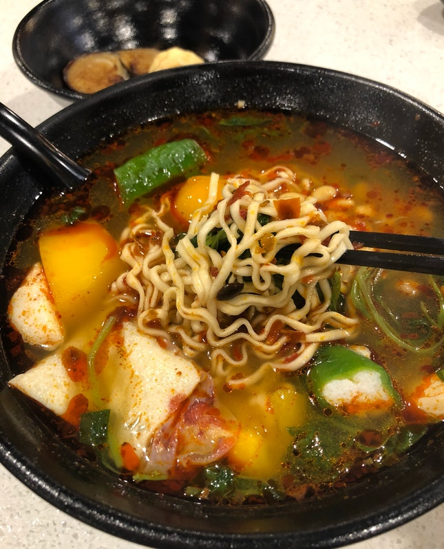 """This Is The First Time I've Seen  """"Ma La"""" Soup As An Option For Yong Tau Fu"""