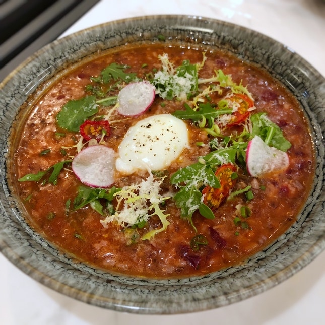 Specialty Beef & Tomato Braised Rice ($28++)