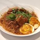 Dry Mee Siam ($5.50)