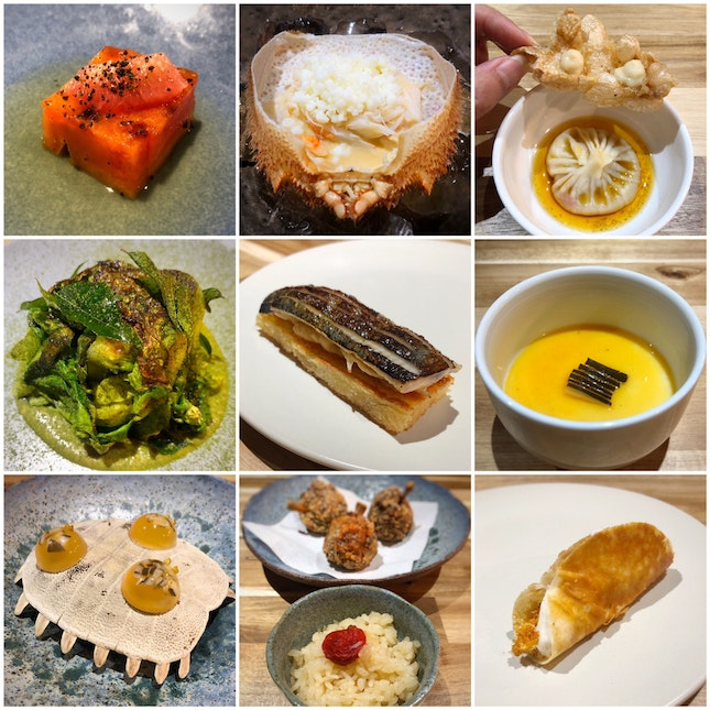 Chef Desmond's Best Menu Yet ($78++ for the 9-course dinner)