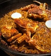 New On The Menu At FOC: Soft Shell Crab Paella