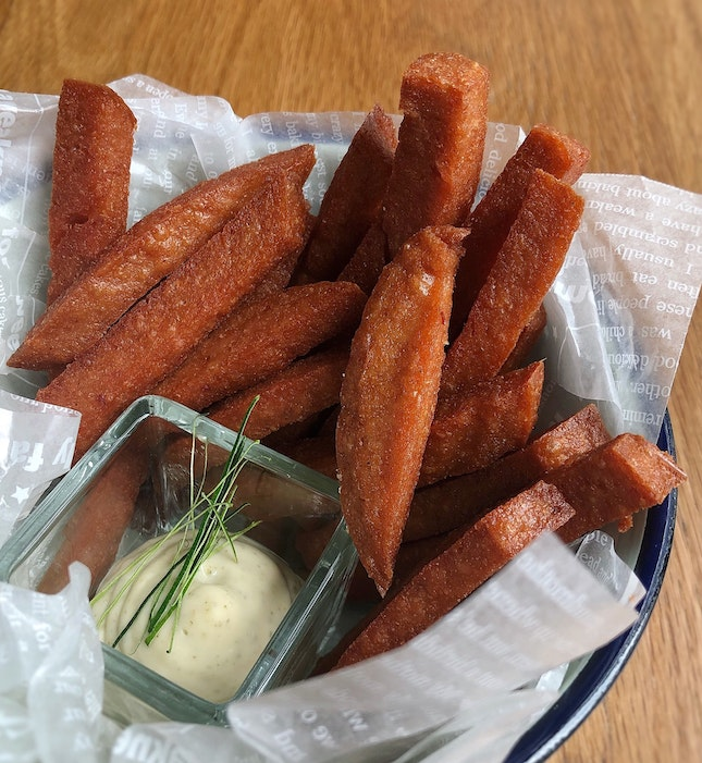 Spam Fries ($8++)