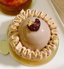 Seasonal Special: Caramel Cashew Tart ($10 for the small size)