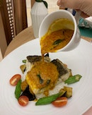 Here Is A Modern One-dish Meal Of Curry Fish ($28++)