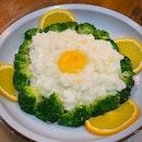Egg White, Scallop And Crab Meat Broccoli (Small: $15.80++)