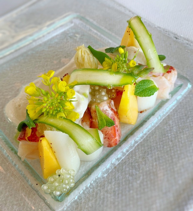 New On The Spring 2019 Menu: Lobster And Thai Mango Salad