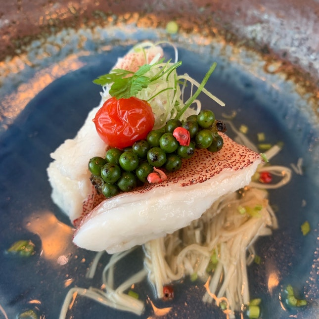 Flawless Steamed Grouper
