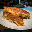 The Kimchi Grilled Cheese Sandwich Is Tasty!