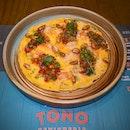 """""""Tortilla De Langostinos"""" ($32++)"""