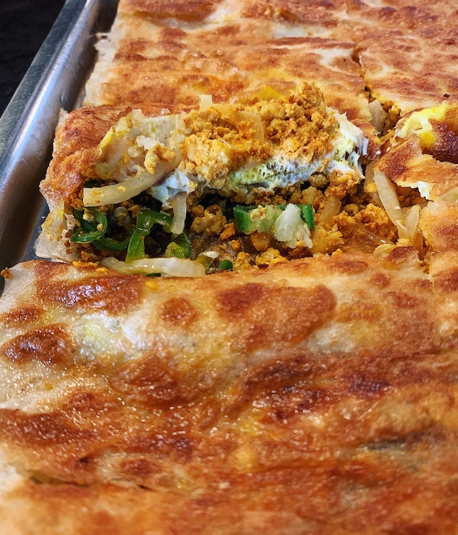 Chicken Murtabak - It's Big Enough To Be Shared By Two,
