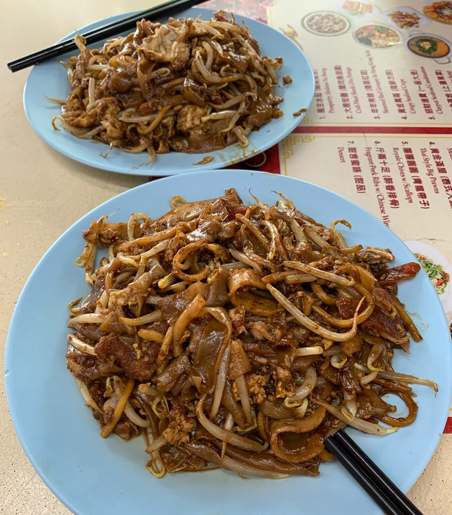 Singapore-Style Char Kway Teow That Answered My Craving Loud And Clear ($3.50).