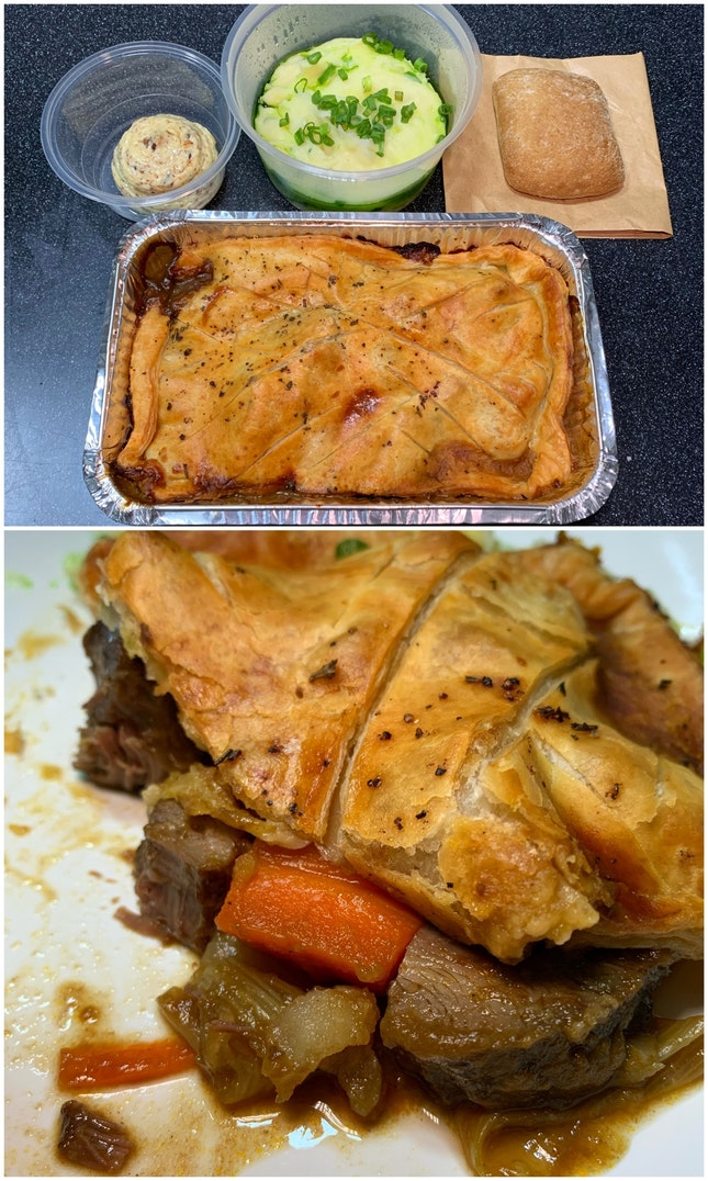 Their Takeaway Menu Of Pies Are Popular For A Good Reason.