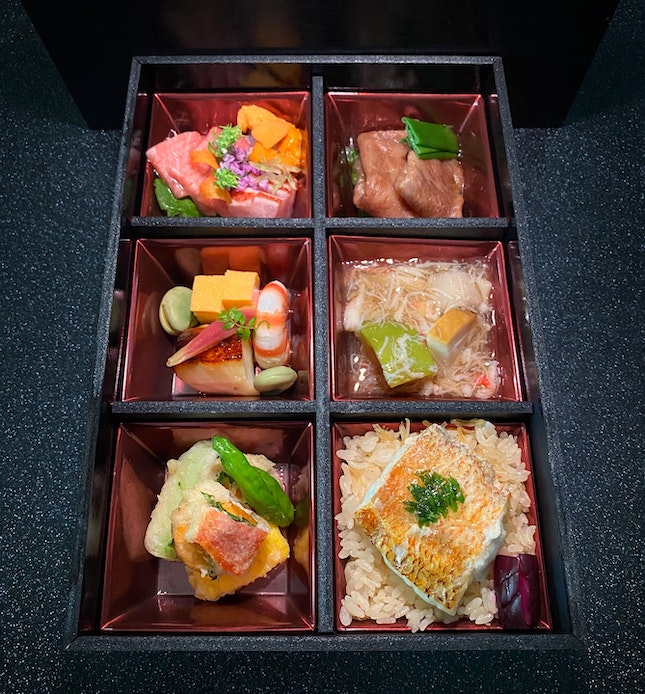 For Kaiseki In A Bento, You Can Check Out Kappo Shunsui's NEW Takeaway Menu.