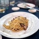 Spahgetti Carbonara ($19)