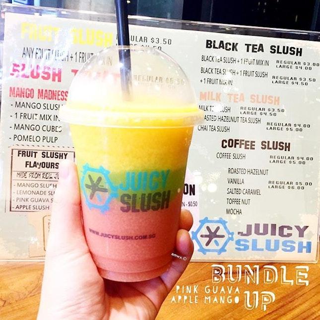 Juicy Slush, $3.50.