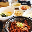 Spicy Pork Bulgogi for #brunch on Day 2, technically we supposed to go #commonground but ended up not going, but I think I should be going when we come back from Busan.