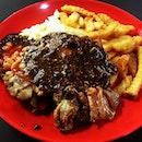 Black pepper Chicken chop!!