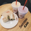Smoothie king for a Saturday.