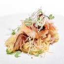 Pan-seared Lobster with XO Sauce on Yuzu Noodle • Savour resident Chef Martin Foo's progressive Chinese cuisine which is characterised by his signature innovative touches.