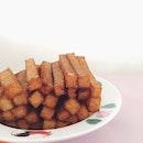 一条一条的它。 #foodie#sunday#foodpic#foodstagram#foodphotography#carrotcakesticks#instadaily#bestoftheday#breakfast#morning#instadaily#igsg#sgfood#delish#nomnom#yummy
