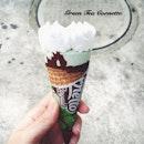 绿茶口味! #cornetto#greentea#potd#instafood#icecream#instapic#instamood#instagramsg#foodpic#foodphotography#foodesteem#foodporn#delish#nomnom#iweeklyfood