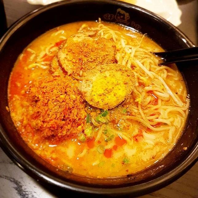 #japanese #spicy #charsiew #BBQpork #ramen #ajisen #sgfood #alltimefavorite #dinner #food #foodie #foodstagram #ilovefood #icapturefood #instafood #foodporn #foodgloriousfood #epochtimesfood #foodblogger #yummy #delicious #8dayseatout #8dayseat #burpple #openricesg #eatout