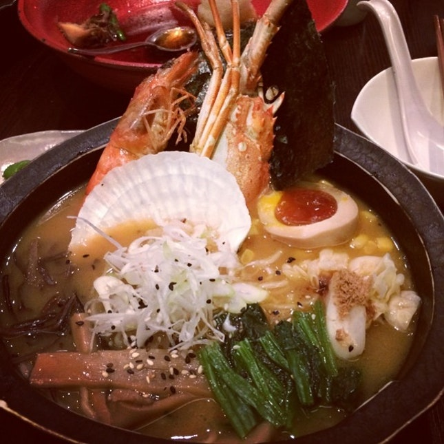 Second time having the seafood ramen.