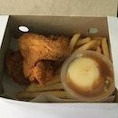 2 piece chicken $7.30