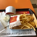 fish and fries meal $7.90