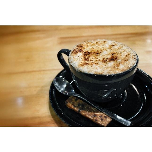 Hazelnut coffee brûlée.