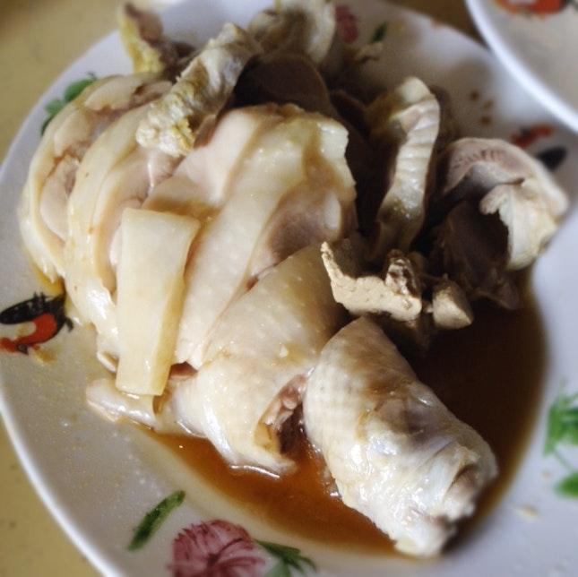 White Chicken Drumstick w Gizzard