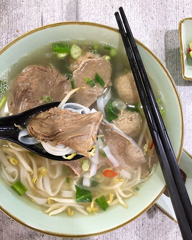 Operated by a deaf couple, Signs A Taste of Vietnam serves no-frills comforting Vietnamese beef pho.