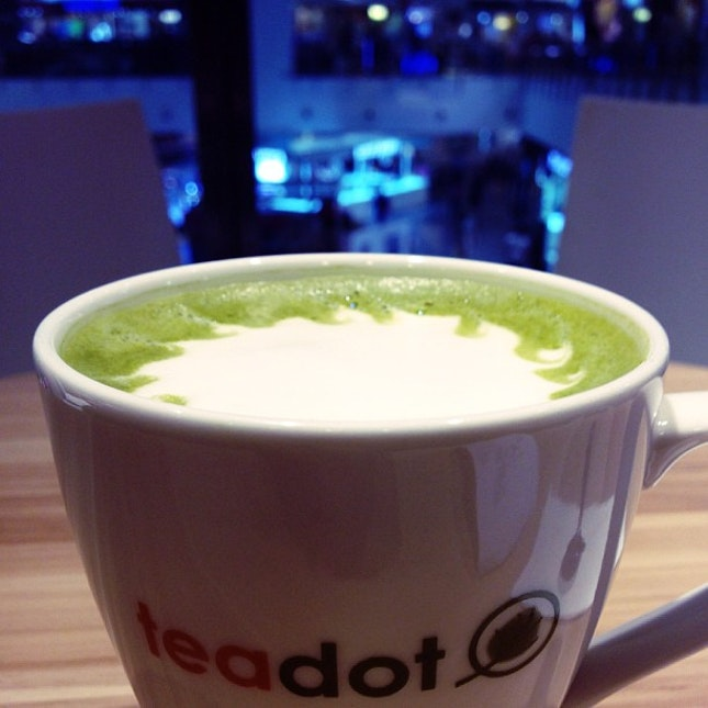 Matcha latte ❤ #tea #chill #instasg #instafood #igsg #instamood