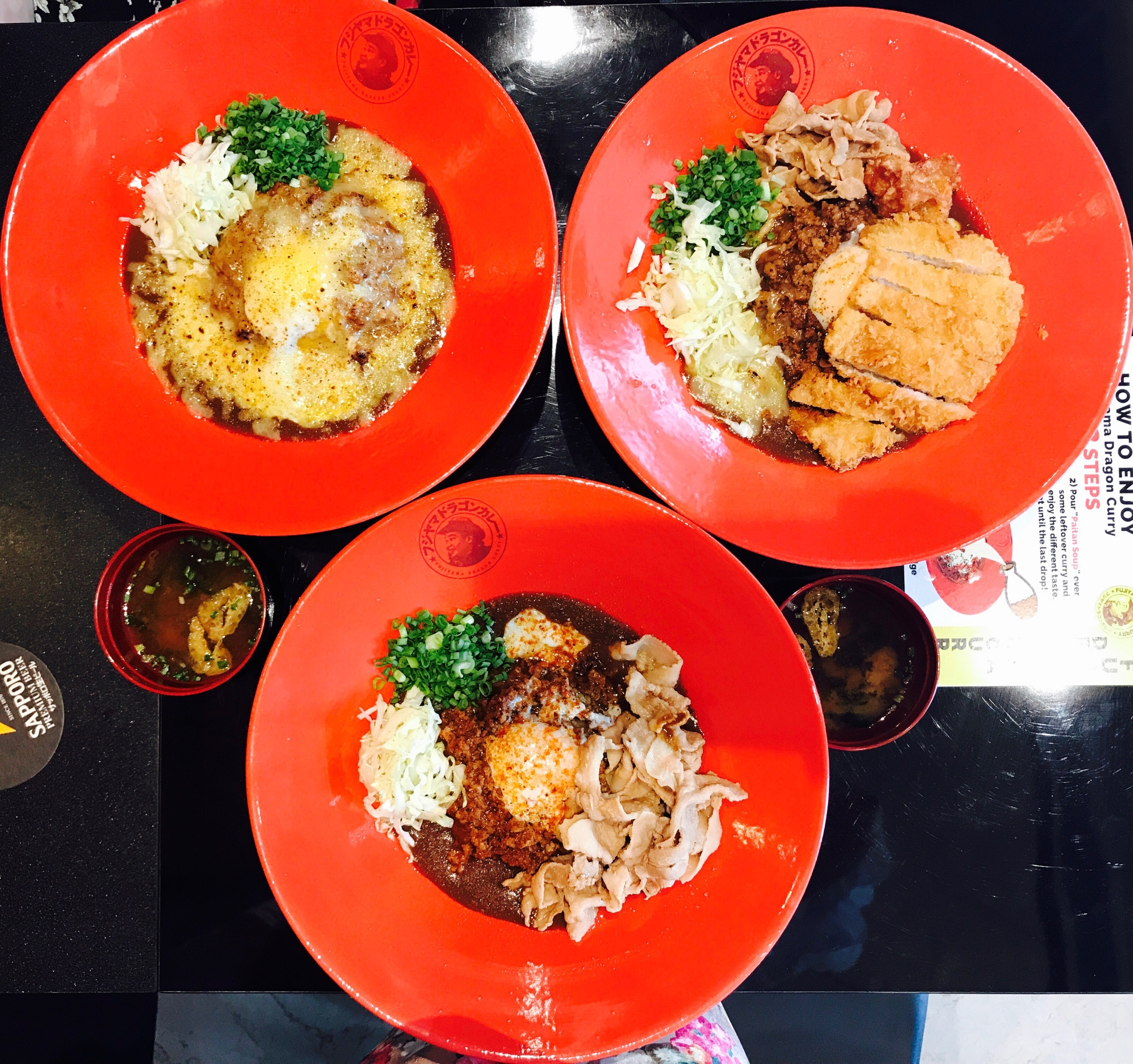 New Japanese Curry Restaurant in Tanjong Pagar
