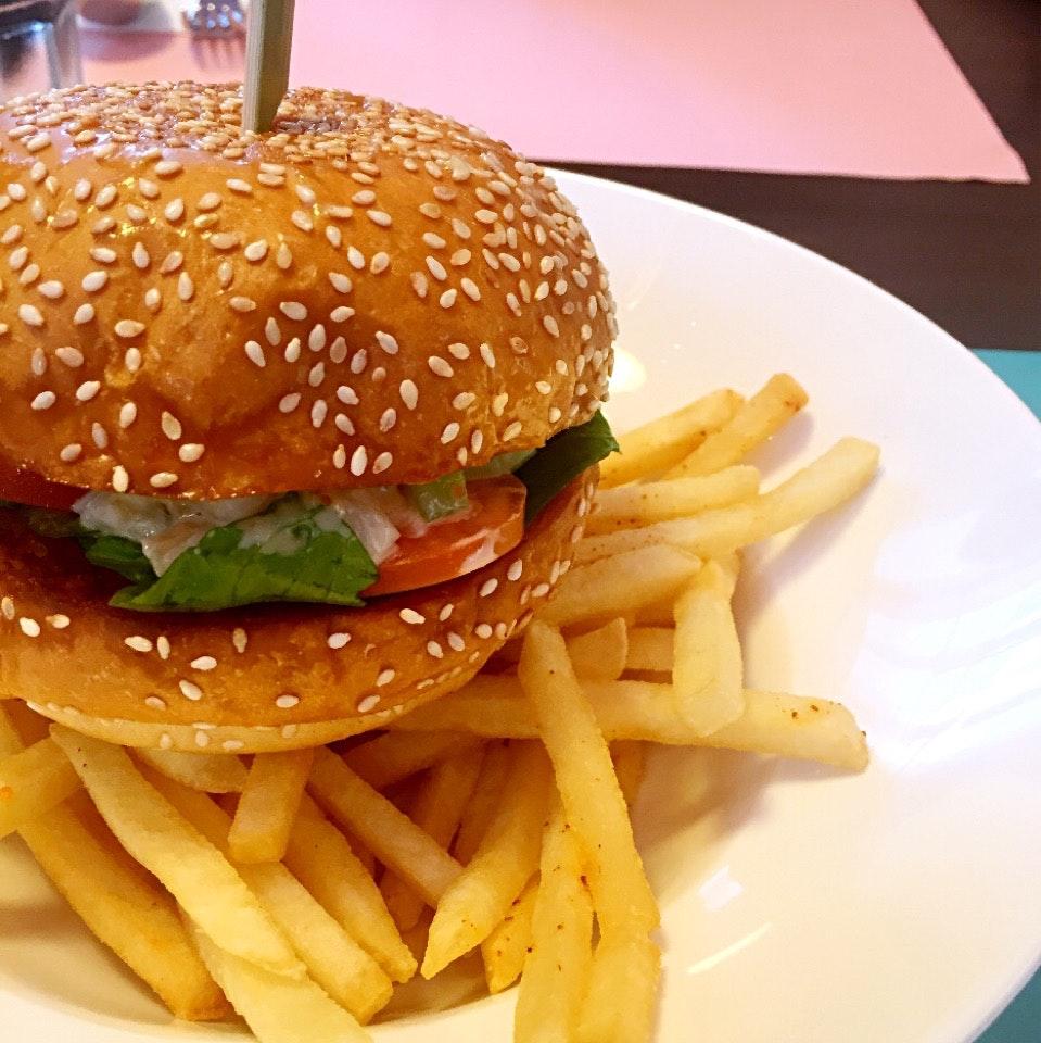 Lobster & Miso Mayo Burger