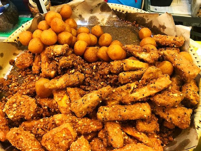 Banana And Sweet Potatoes Fritters