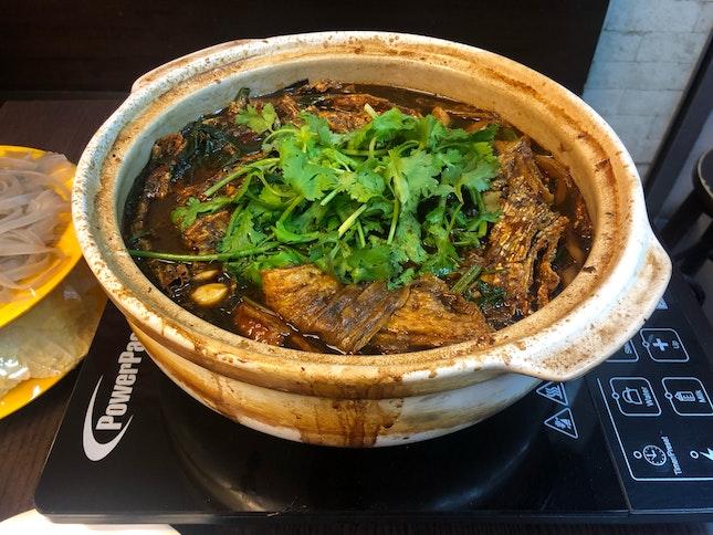 Spicy Chicken Pot