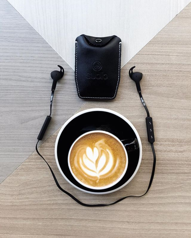 Coffee and my Sudio Tre to keep me company listening to my favourite tracks.