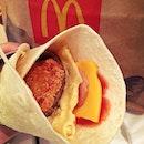 What makes breakfast wrap tastes so good~