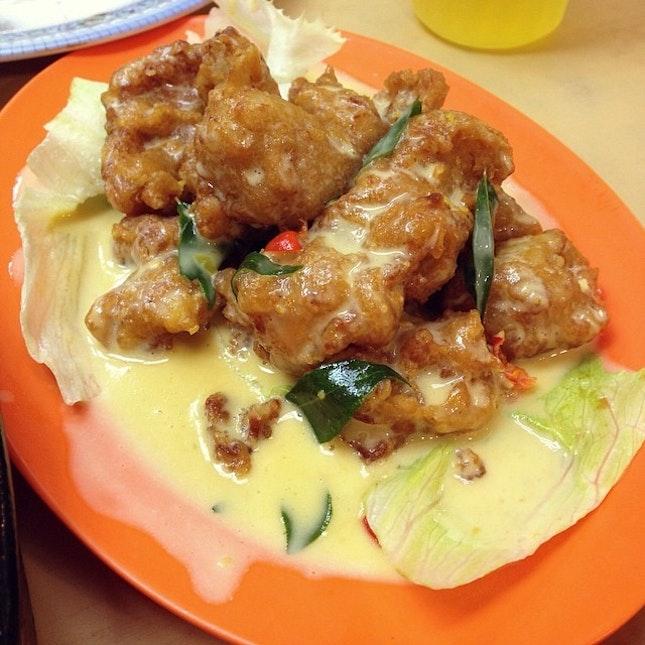 Salted egg pork - 👍👍😍😍😘