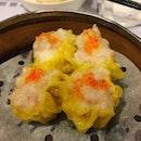Siu mai with succulent prawns!