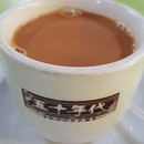 Finally I have time to enjoy a cup of traditional coffee & tea.